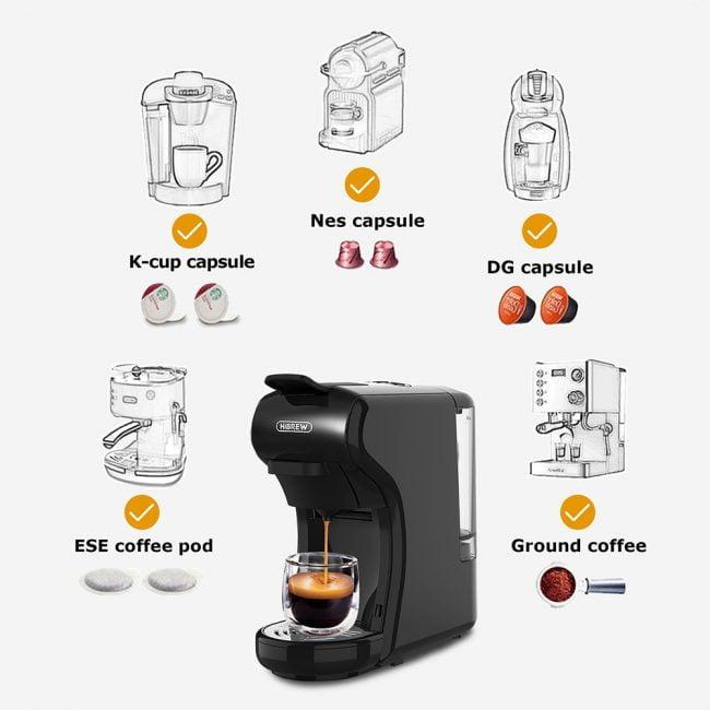 HiBREW Coffee Machine 4-in-1 Multiple Capsule 2