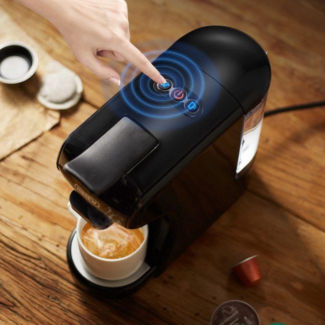 HiBREW Coffee Machine 4-in-1 Multiple Capsule 4