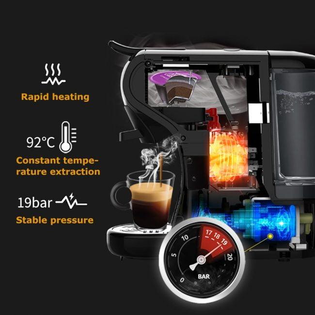HiBREW Coffee Machine 4-in-1 Multiple Capsule 3