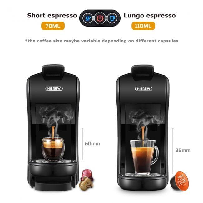 HiBREW Coffee Machine 4-in-1 Multiple Capsule 5